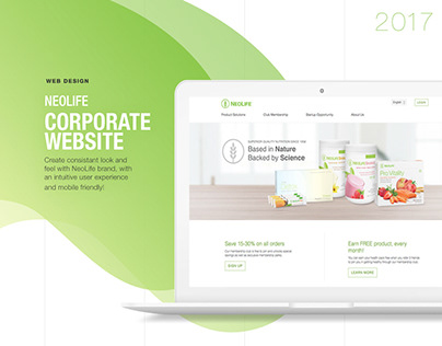Corporate Website Design