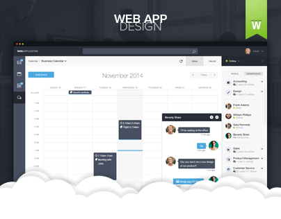 Web Application Dashboard