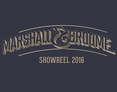 Marshall & Broome Reel 2016
