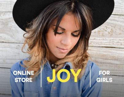 Joy - Online store for girls