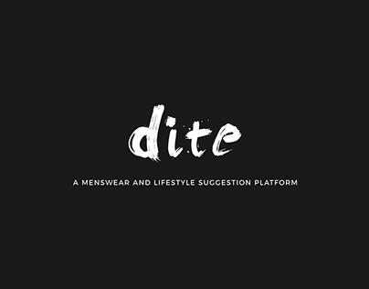 BRANDING | DITE SOCIETY