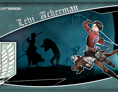 Levi Ackerman Projects Photos Videos Logos Illustrations And Branding On Behance