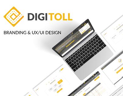DigiToll : UX/UI Design of web & mobile platform