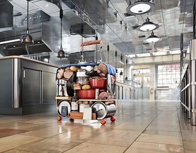 Samsonite Luggage   Retouch & CGI Animations
