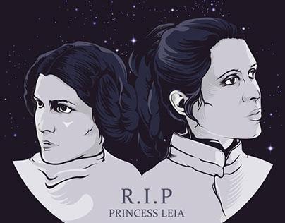R.I.P Princess Leia