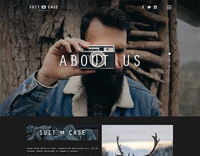 Photography Theme Web Designs