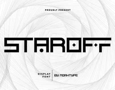 Staroff Font