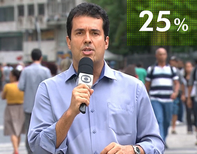 Motion Tracking / Motion Graphics - Rede Globo / RJTV