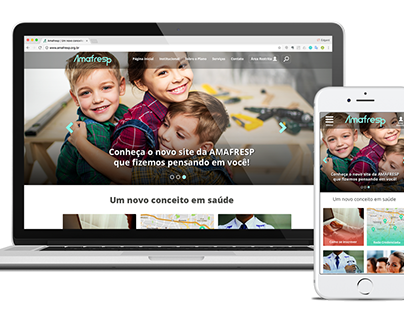 Responsive Website - Amafresp - Association