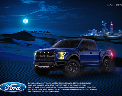 social media post for ford company.