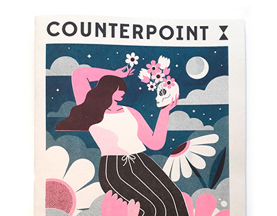 Cover illustration for Counterpoint magazine