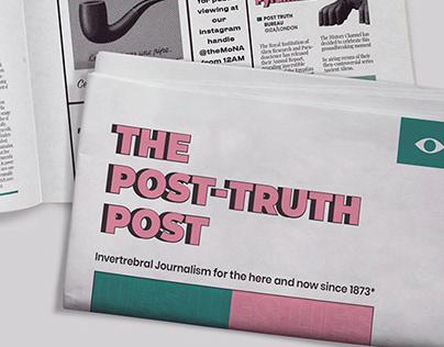 Editorial Design: The Post-Truth Post