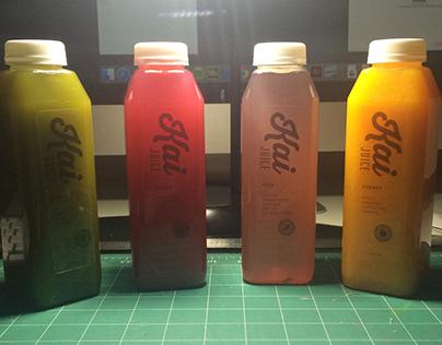 Kai Juice Packaging