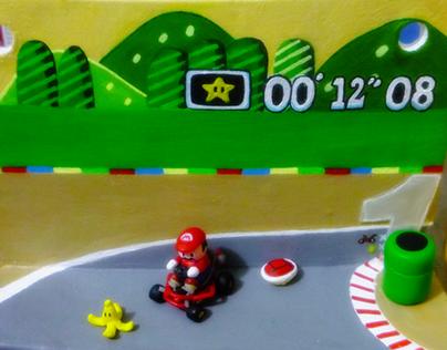 Super Mario Kart Wall Ornament