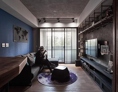 White Interior Design | J House