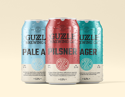 Guzzle Brewing Co. - Concept Work