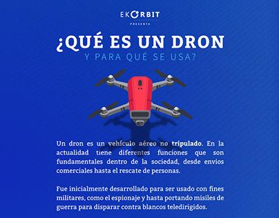 Infografías Curso de Introducción y Armado de Drones