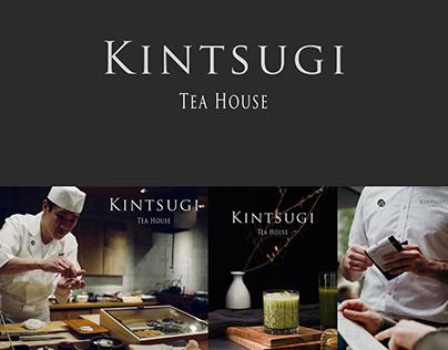KINTSUGI - Japanese Cafe Branding
