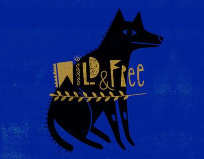 White tees: FREE SPIRIT//Wild&Free