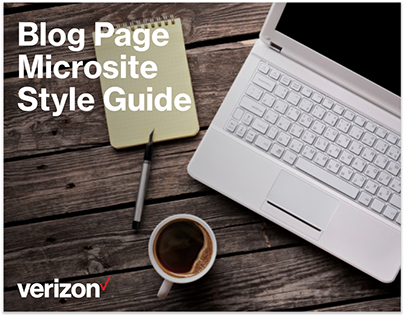 Blog for CMS style guide