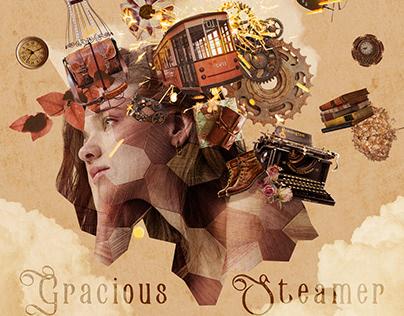 Gracious Steamer - Photo montage