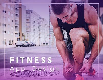 Fitness Training App - Design Concepts