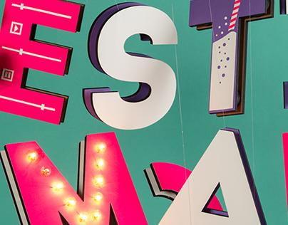 Festimal - splashscreen design