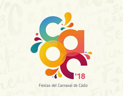 COAC Fiestas del Carnaval de Cádiz BRANDING I IDENTITY