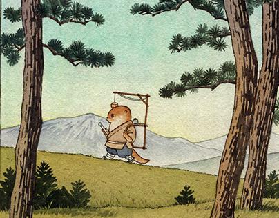 水獭知鱼的修行旅程 Mr. Otter practice travels