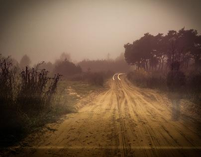 Country Road - Long Exposure