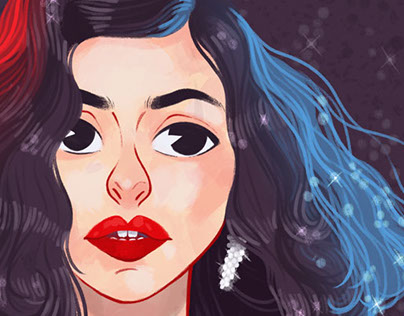 Marina and the Diamonds - a fanart