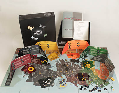 Board Game Design - Game of Thrones
