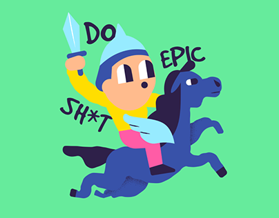 Keep Going Illustrations