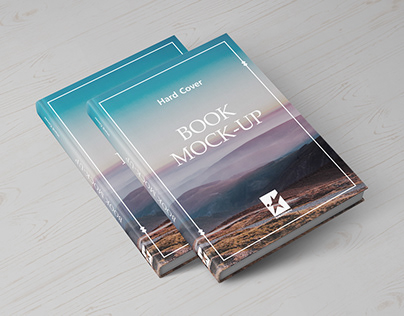 Hardcover Book Mock-Ups Vol.1
