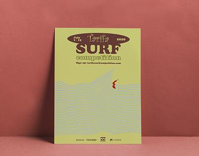 Poster Surf in Tarifa