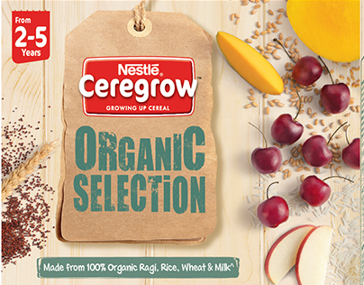Packaging Photography - Nestle Organic Cereal
