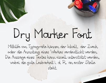 Dry Marker Font