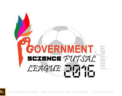 Futsal Logo & Poster of the Faculty of IP Unjani