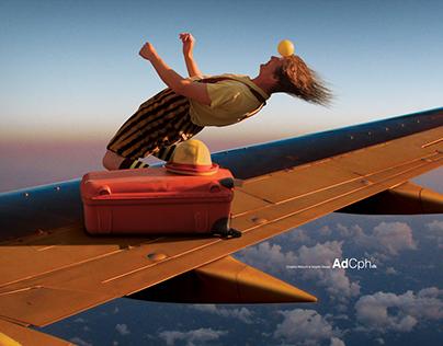 Flying Street Artist