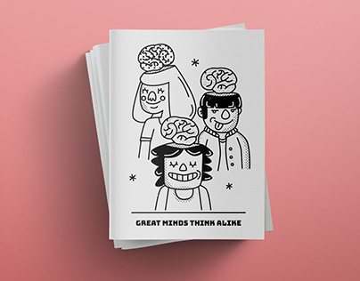 Great Minds Think Alike zine