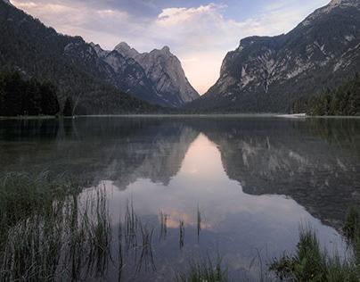 Toblacher See - Lago di Dobbiaco (Südtirol)