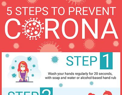 Steps to prevent corona virus
