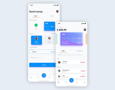 App Payment Screen Design
