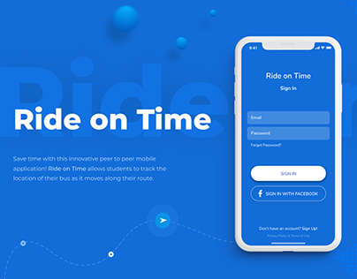 Ride on Time App