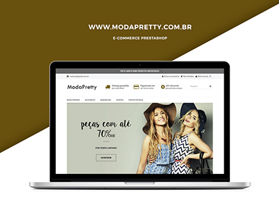 E-commerce ModaPretty [Prestashop]