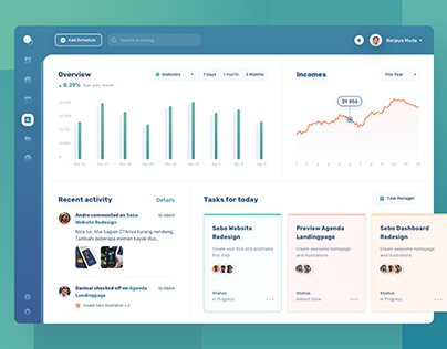Project Overview Dashboard