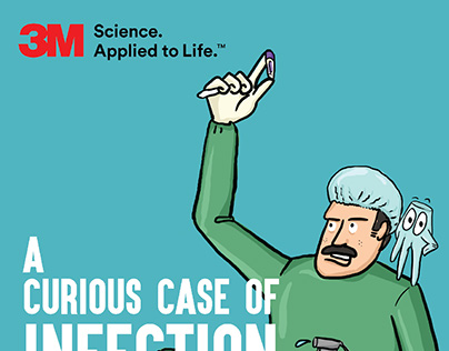 Curious Case of Infection - comics for 3M India.