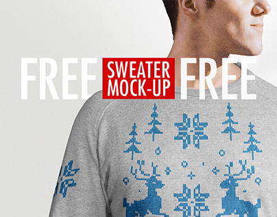 Free Sweater Mock-Up