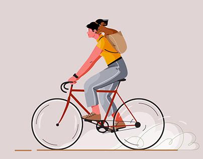 Cycling illos