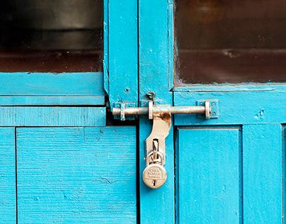 Door and locks